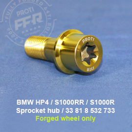 S1000RR Sprocket hub screw